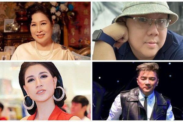 NSND Hồng Vân và loạt sao Việt dính ồn ào với bà Phương Hằng