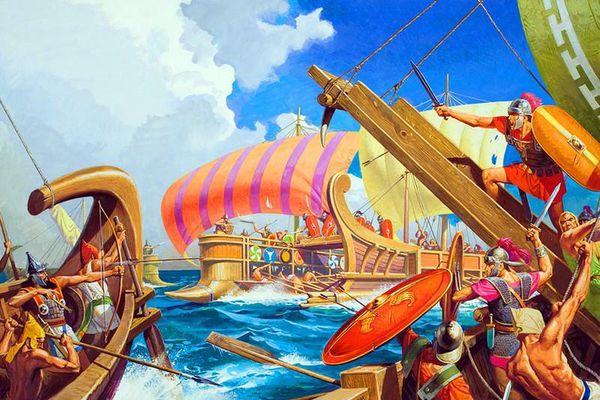 Giải mã thứ vũ khí có 1-0-2 trên tàu chiến La Mã
