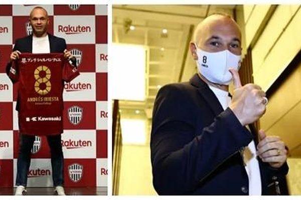 Iniesta tiếp tục 'dưỡng già' tại Nhật Bản