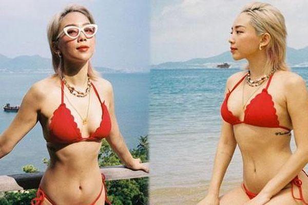 Tóc Tiên tung ảnh bikini 'mướt mắt' ngay trước sinh nhật tuổi 32
