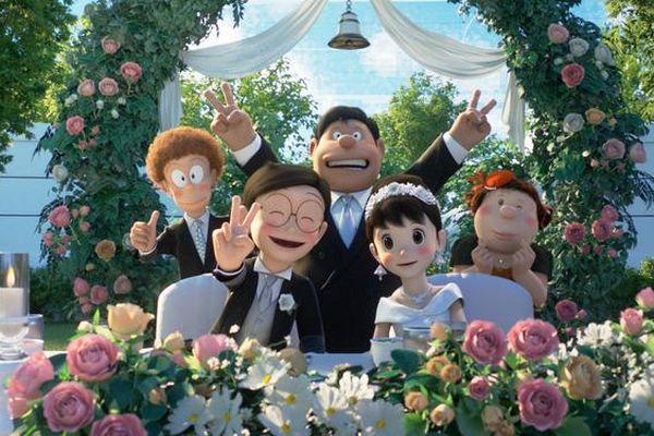 Nobita chạy trốn ngay trước 'đám cưới thế kỷ' cùng Shizuka