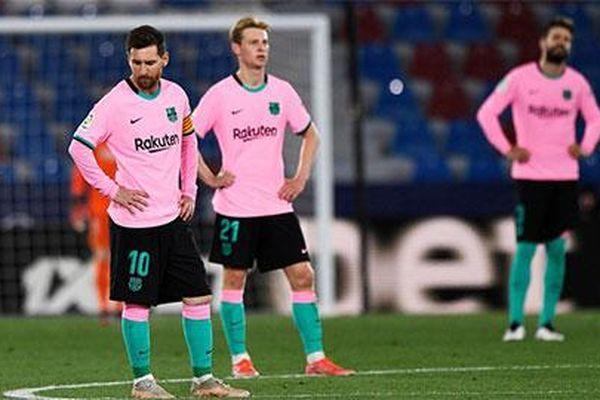 Khe cửa cực hẹp để Barca vô địch La Liga