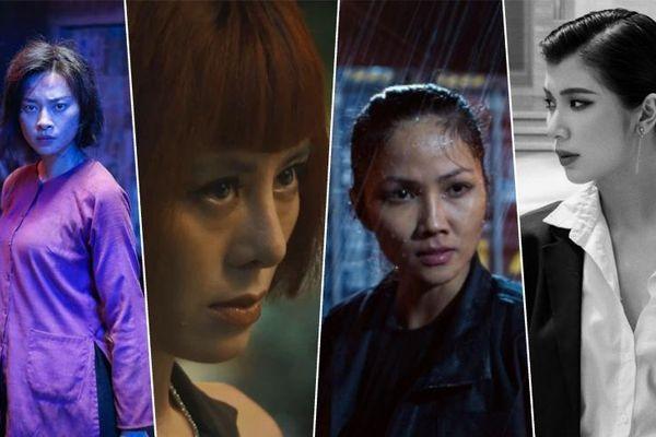 Khi các 'chị đẹp' của showbiz Việt hóa 'chị đại' trên màn ảnh