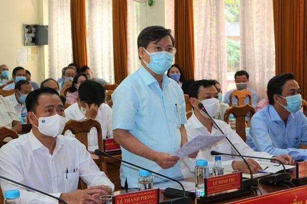 Viện trưởng Viện KSND tối cao Lê Minh Trí hứa gì trước cử tri?