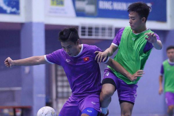 Tuyển futsal Việt Nam hủy giao hữu trước khi đi UAE