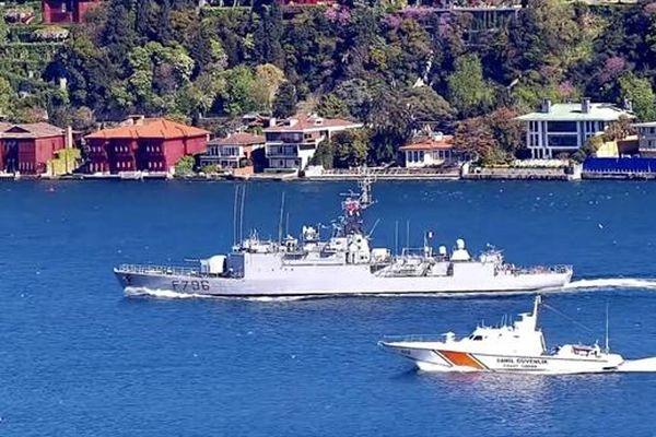 Chiến hạm F796 vào Biển Đen để khiêu khích Nga?