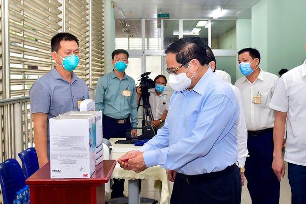 CHÙM ẢNH: Thủ tướng Phạm Minh Chính thăm và làm việc tại TPHCM