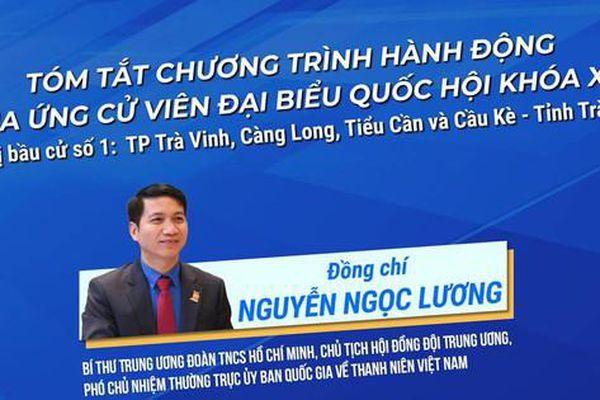 Chương trình hành động của ứng cử viên Nguyễn Ngọc Lương
