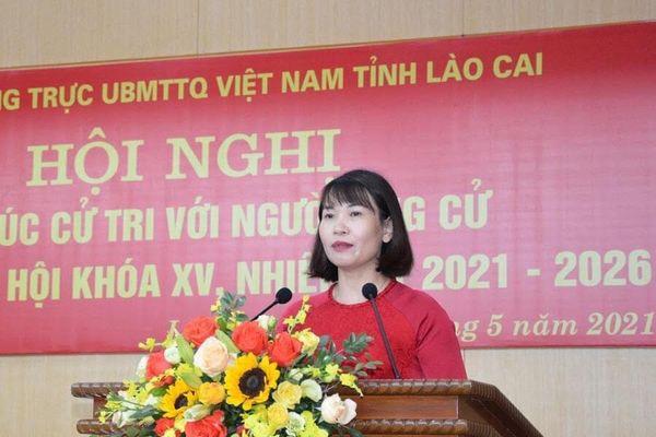 Nữ nhà giáo vùng cao ứng cử Đại biểu Quốc hội
