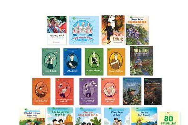 Ra mắt 21 ấn phẩm đặc biệt về thiếu niên, nhi đồng