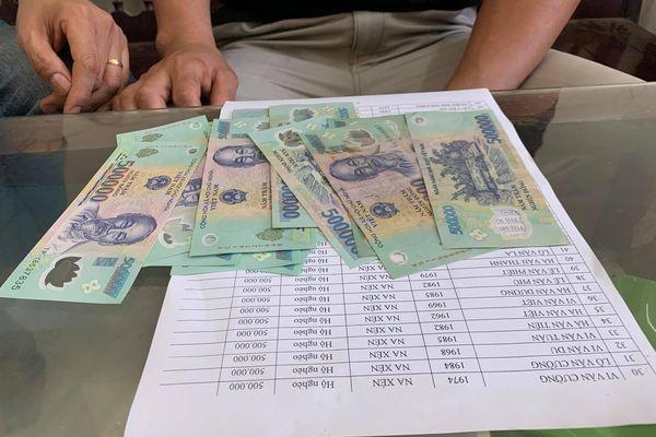 Vụ Chủ tịch Mặt trận xã ký khống hồ sơ ở Nghệ An: Công an tạm giữ tiền để điều tra