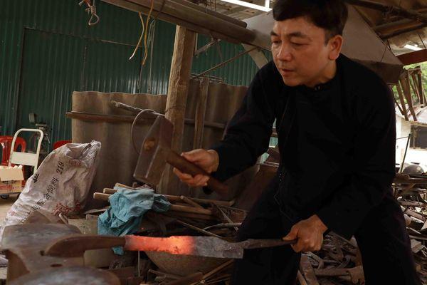 Làng rèn Phúc Sen với nghề truyền thống có lịch sử hơn 300 năm