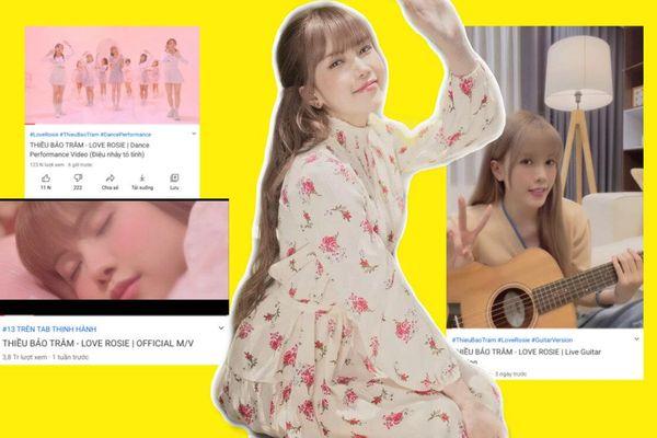 Hết tung clip hát Acoustic đến vũ đạo, nhưng thành tích MV mới của Thiều Bảo Trâm vẫn không khá lên nổi?