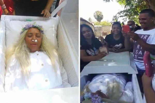 Người phụ nữ diễn tập tang lễ cho mình khi đang sống, thái độ của bạn bè mới gây bất ngờ