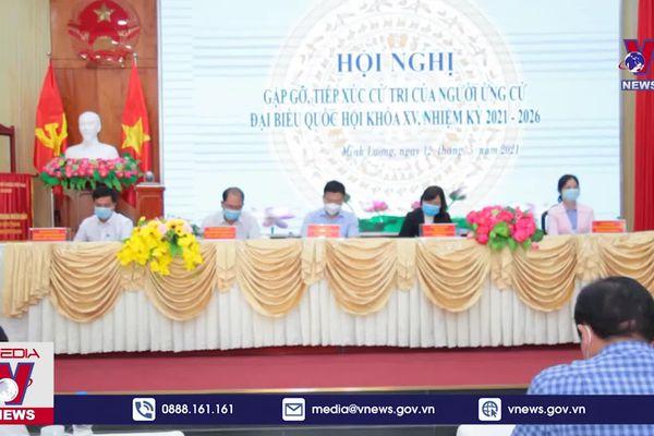 Chương trình hành động của người ứng cử vì lợi ích người dân