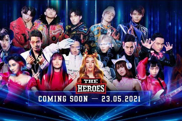 Erik, Orange, Thanh Duy siêu ngầu trong trailer giới thiệu đầu tiên của The Heroes 2021