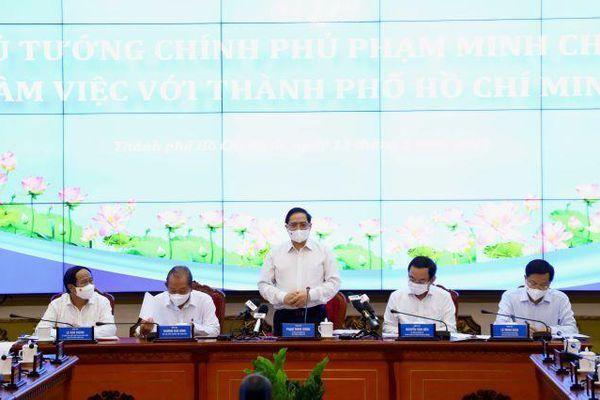 Thủ tướng: Ủng hộ tối đa TP.HCM tăng tỉ lệ ngân sách được giữ lại