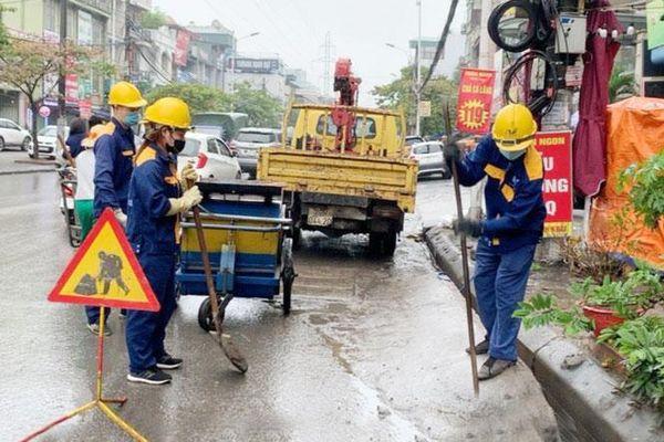 Xử lý công trình cản trở hệ thống thoát nước