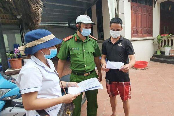 Phát thư mời người dân cung cấp thông tin về người trốn tránh khai báo y tế