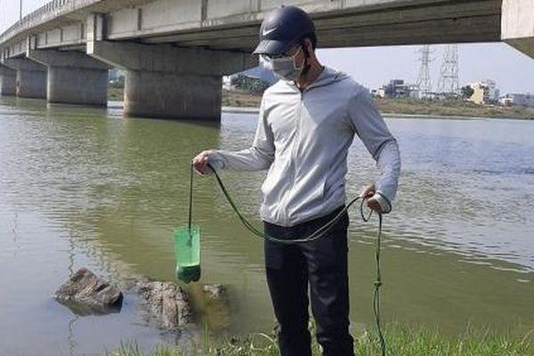 Chất lượng nước trên hệ thống thủy lợi An Trạch tốt