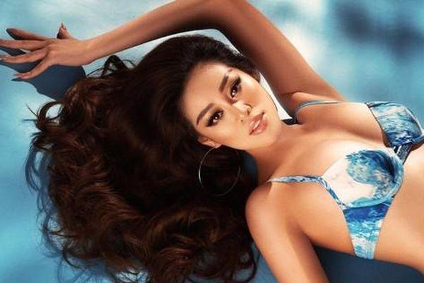 Vì sao Khánh Vân lại chọn diện bikini dáng cổ điển trong những bộ ảnh gần đây?