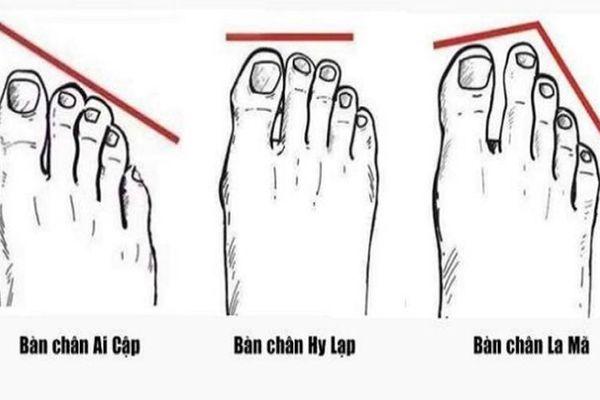 Ngón chân nào dài nhất cho biết vận mệnh tương lai của bạn?