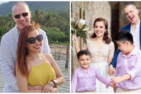 Cuộc sống viên mãn của Lý Thanh Thảo sau tái hôn với chồng Tây