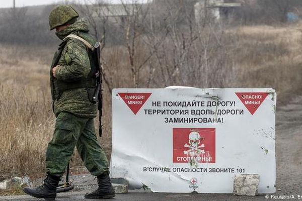 Báo Mỹ: Nghi ngờ Nga sẽ sáp nhập Donbass vào với Liên bang
