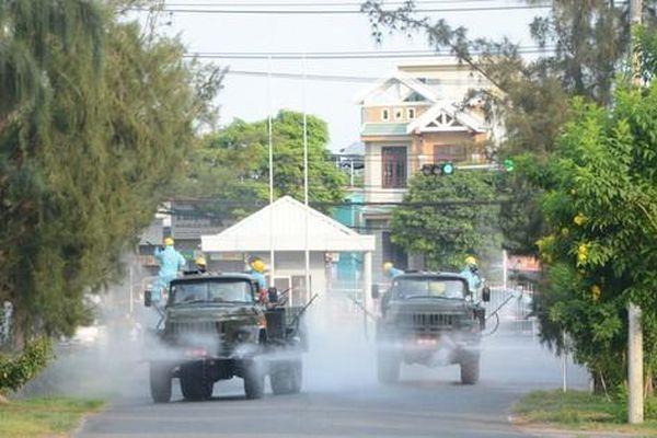 Lái xe dương tính, xét nghiệm toàn bộ công nhân một công ty ở Đà Nẵng