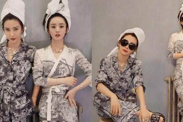 Đọ sắc trên tạp chí, Triệu Lệ Dĩnh bị đàn chị hơn 14 tuổi Lý Băng Băng 'đè bẹp'