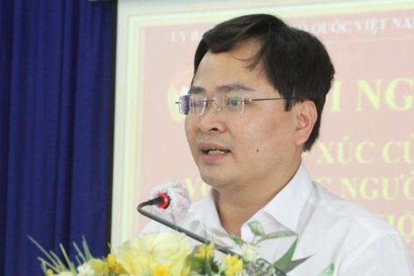 'Ứng cử viên Nguyễn Anh Tuấn thể hiện tâm huyết trong vấn đề bảo vệ chủ quyền'
