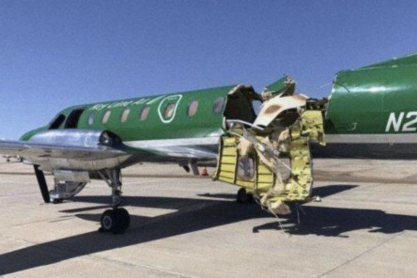 Máy bay gần gãy đôi trên không vẫn hạ cánh an toàn 'thần kỳ'
