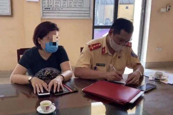 Nữ tài xế lùi xe trên cao tốc Hà Nội – Thái Nguyên bị xử phạt 17 triệu đồng