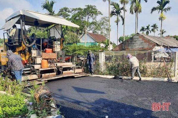 Đồng Lộc đầu tư 8,5 tỷ đồng xây dựng công trình chào mừng bầu cử