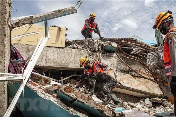 Động đất có độ lớn 6,6 xảy ra tại khu vực bờ biển Indonesia