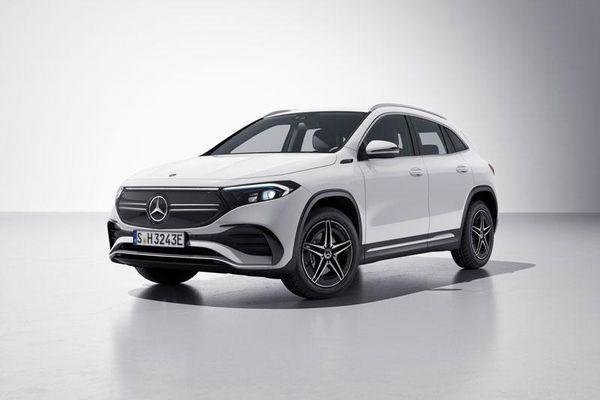 SUV chạy điện Mercedes-Benz EQA có thêm 2 phiên bản mới