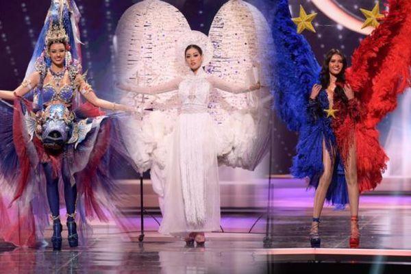 Top 10 bộ National Costume ấn tượng nhất Miss Universe: 'Kén Em' của Khánh Vân quá xuất sắc