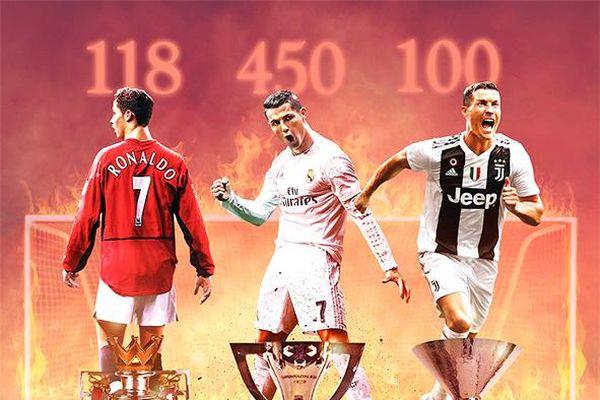 Ronaldo 100 Goals