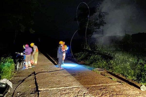 Phú Lương: Sự cố mất điện do mưa dông đã được khắc phục
