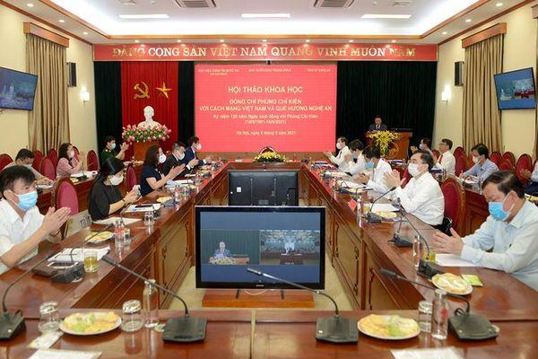 Đồng chí Phùng Chí Kiên với việc khôi phục tổ chức, phát triển, hoàn thiện đường lối chiến lược, sách lược của Đảng