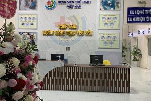 Bệnh viện Thể thao Việt Nam: Xây dựng 'Bệnh viện điện tử' phục vụ người dân