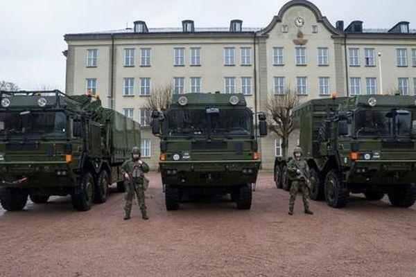 Thụy Điển tiếp nhận lô tên lửa phòng không Patriot 103 đầu tiên từ Mỹ