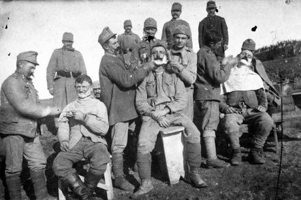 Góc ảnh binh sĩ sinh hoạt trên chiến trường Thế chiến 1