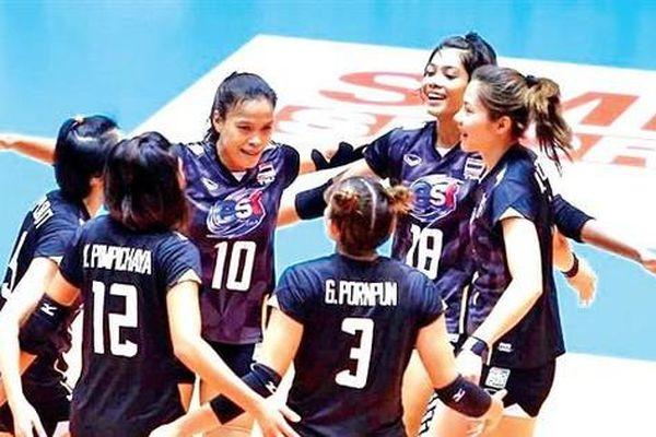 Lao đao vì COVID-19, bóng chuyền nữ Thái Lan vẫn bị 'ép' dự giải thế giới