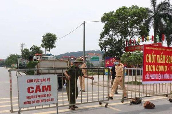 Bắc Ninh lập 2 chốt liên ngành kiểm soát người, phương tiện ra vào tỉnh