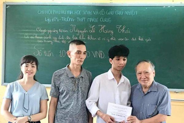 Em Nguyễn Lê Hoàng Thái, tấm gương vượt khó học giỏi