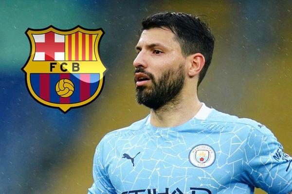 Aguero giảm gần nửa lương để cập bến Barcelona