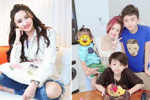 'Người đẹp không tuổi' Trương Bá Chi nuôi dạy 3 con trai thế này bảo sao cô vẫn muốn đẻ thêm