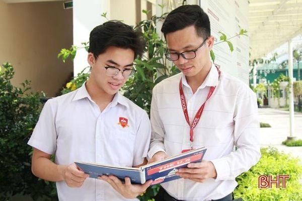 Nam sinh Trường iSchool Hà Tĩnh đạt IELTS 7.0