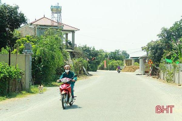 Hoàn thành tuyến đường dài 3,6 km sau gần 1 thập kỷ triển khai xây dựng ở Nghi Xuân